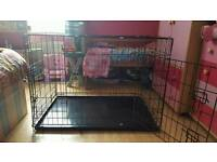 """Large dog crate free until Sunday then will be thrown away size is 40""""x30"""""""