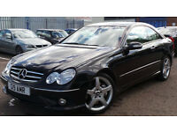 2006 06 MERCEDES CLK 320 CDI SPORT COUPE AMG AUTO DIESEL FULL SERVICE HISTORY(CHEAP PART EX WELCOME)