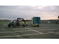 Crane,hire,anchor,mooring,tractor,transport,delivery,farm,ride on,mower,engine,hot tub,spas,baths