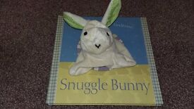 Bunny puppet book