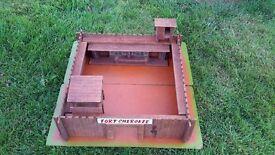 Vintage toy fort