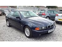 BMW 5 SERIES 2926cc Diesel, Saloon, Blue, Automatic, MotExpires: 25 February 2017