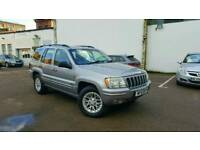 02 Jeep Grand Cherokee 4.7 V8 4X4 LPG GAS Converted Cheap Off Roader Road Shogun Pajero Range Rover