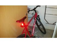 mens raleigh helion bike new used a couple of times 320 paid for it