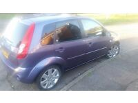 Top of range ford fiesta ghia in immaculate condition with long mot and service history