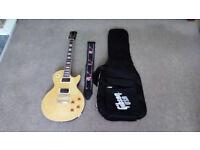 Gibson Epiphone Birdseye Maple Korean Les Paul Plus Gibson Soft Case