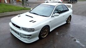 1998 Subaru Impreza Type R STI V4 2 door Evo, Skyline, M3, JDM, Import, Rally