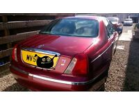 Rover 75 Club 2001,for spares or perpair