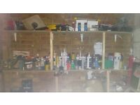 Garage clearance power tools hand tools parts