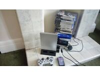 Play Station 2 Slim + games PS2