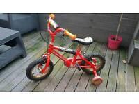 Kids lighting Mcqueen bike