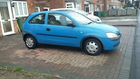 vauxhall corsa low mileage service history selling cheap
