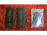 Iphone 6 plus batteries and service kit