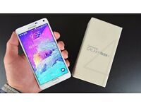 Samsung Note 4 unlocked open to all networks ***mint condition***Fast smart phone***