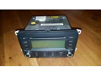 VW Golf MK5 Stereo CD Player / Radio Blaupunkt RCD300