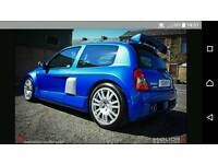 Renault clio private plate CL10YSS