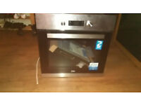 Beko EcoSmart Built In 59cm Electric Single Oven Stainless Steel New