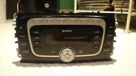 Sony car radio, cd, mp3