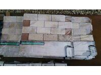 Mosaic tiles left after project