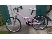Boys bike Apollo Xpander 6 speed vgc. £20 Girls/Ladies bike Apollo Kinx 6 speed as new £45