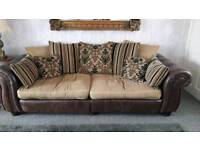 Scs sofa and armchair