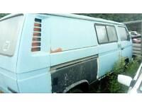 Vw Transporter camper type 25 Restoration project