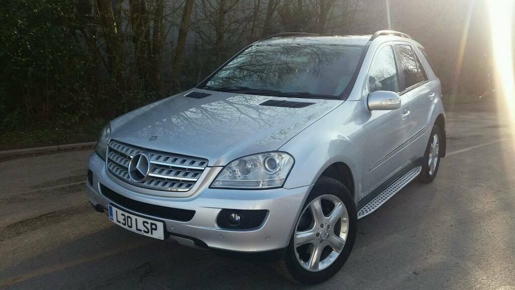 mercedes ml 320 cdi 2006 7g tronic may px for focus mk3 zetec s or bmw 1 series 2012 on in. Black Bedroom Furniture Sets. Home Design Ideas