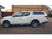 Immaculate Mitsubishi L200 2.4 DI-D Warrior Double Cab 4dr - only 8000 miles -