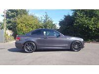 2008 GREY BMW 135i M SPORT - SAT NAV - CREAM LEATHER - FULL BMW HISTORY - IMMACULATE