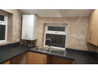 A smart, spacious two bed flat ready to move in before the New Year.