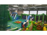 Inflatable theme park for ALL AGES til 22nd