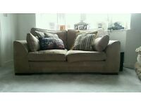 2 x comfortable Sofas (3 seater and 2 seater)