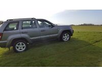 Jeep Grand Cherokee ,same owner from new ,full service history ,Dvd player ,rear parking camera