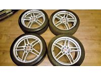 muti-fit alloy wheels 17 inch