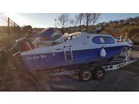 Shetland 535 boat.