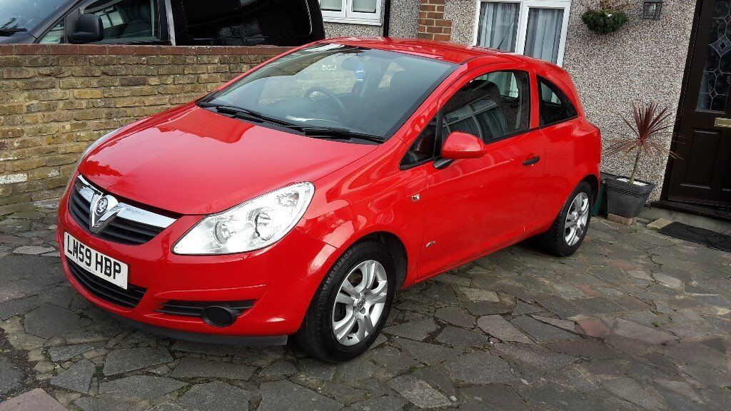 vauxhall corsa active 1 2 petrol manual 3 door red 2009 59 plate great condition car in. Black Bedroom Furniture Sets. Home Design Ideas