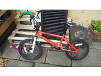 """Kid's Ruption Pulse BMX with 16"""" wheels."""