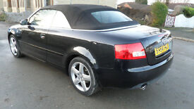 AUDI A4 1.8 T SPORT CABRIOLET-Convertible 54 REG -DAMAGED REPAIRABLE SALVAGE