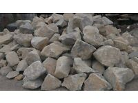 Quality Grey Rockery Stones **1 Tonne Bulk Bag**
