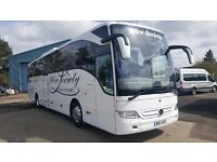 Affordable Luxury Executive Coach & Quality Mini-Coach Hire 16 to 70 seats, East Kilbride, Glasgow