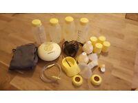 Modela breast pump with spares