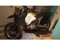 Husqvarna 250 2 stroke swap for 125