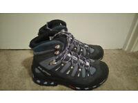 Salomon Women's Quest 4D 2 GTX Hiking boots size UK6