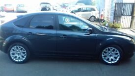 LOW MILEAGE AND LOW ROAD TAX FORD FOCUS 2010,5DR ,ONE FULL YEAR MOT,TILL  (03/09/2019) (no adversory