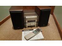 DENON D-M7 SOUND SYSTEM. UDCM-M7 3 CD AUTO CHANGER AND UDRA-M7 TUNER Amp