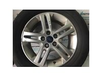 FORD GALAXY MK3 2010-2015 ALLOY WHEEL R16 WITH BAD TYRE ND60-3