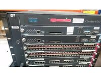 used Cisco Systems Catalyst 6513 Series Server Unit