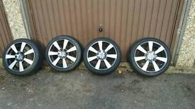"OZ RACING 16"" ALLOYS AND TYRES 195 45 16"