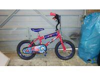 Boy's Spiderman bike