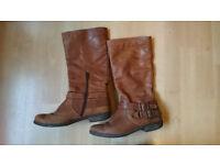 Ladies JONES Light Brown Boots - UK3.5/EU36